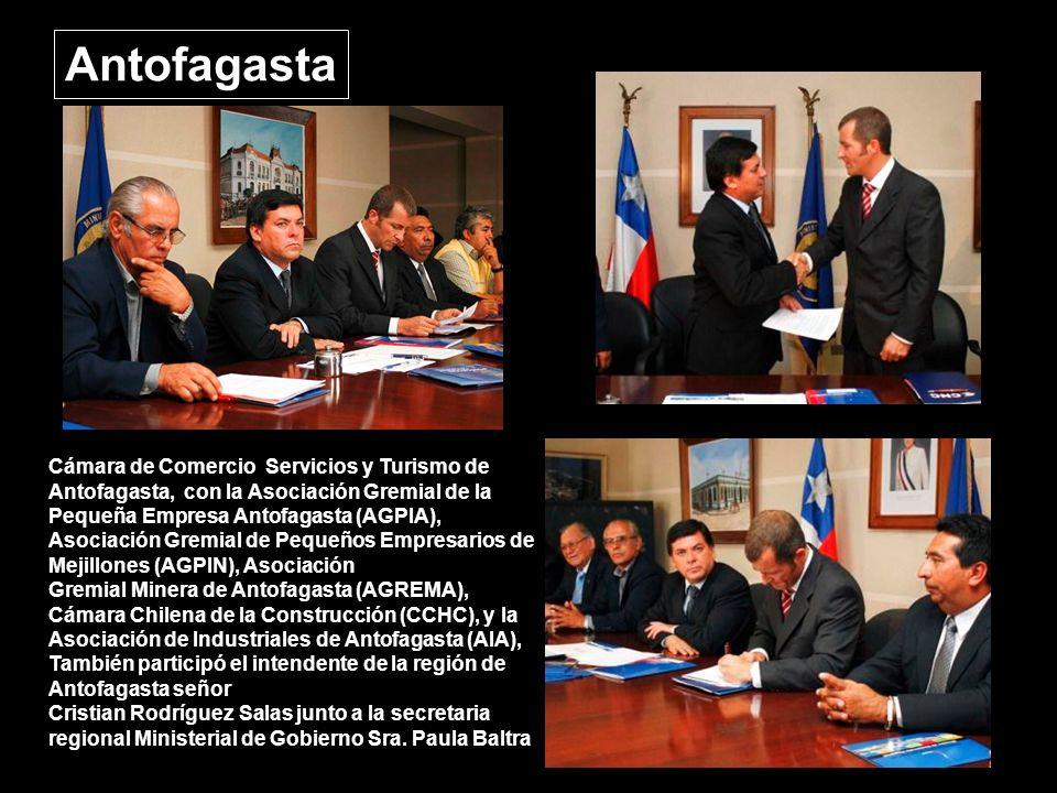 Osorno 3 alcaldes, 4 concejales, Multigremial, Camara de Comercio e Industria, CChC, Hotelga, colegios profesionales y la Unión Comunal de Juntas de Vecinos urbana y tambien la rural