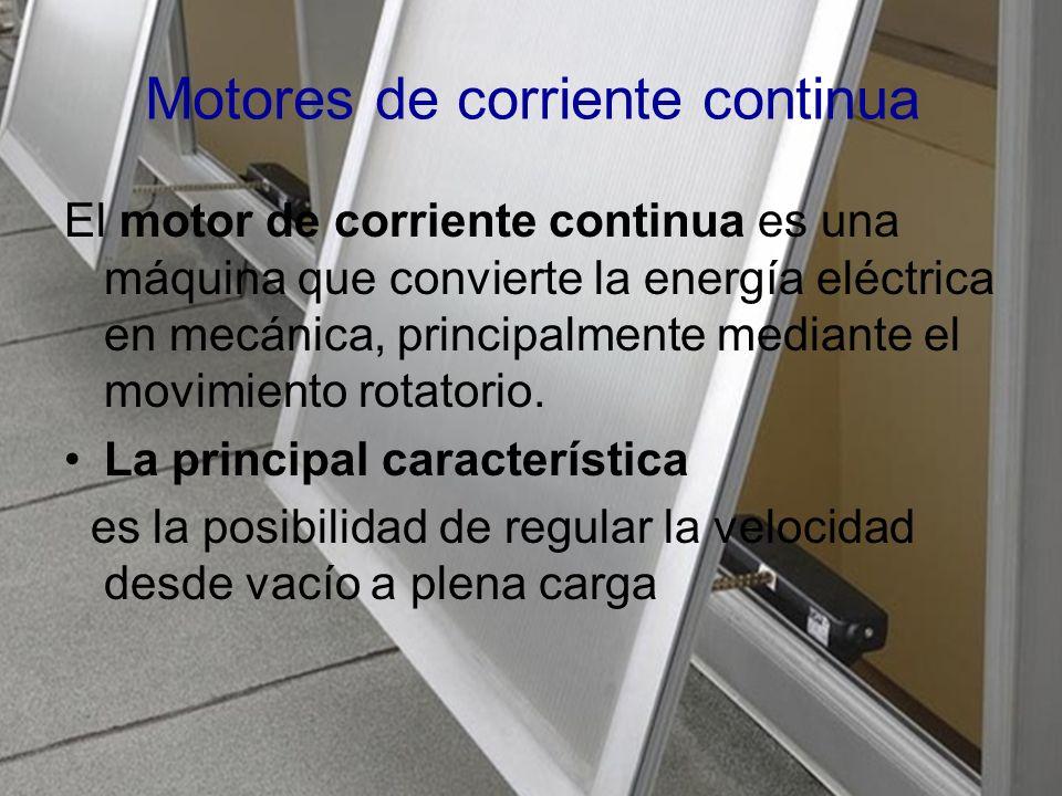 ejemplos rotor Imán permanente Los motores de corriente alterna son utilizados: fábricas, bombas, ventiladores, compresores, elevadores, etc.