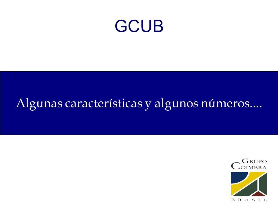 GCUB Algunas características y algunos números....