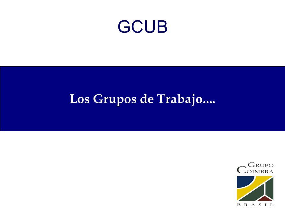 GCUB Los Grupos de Trabajo....