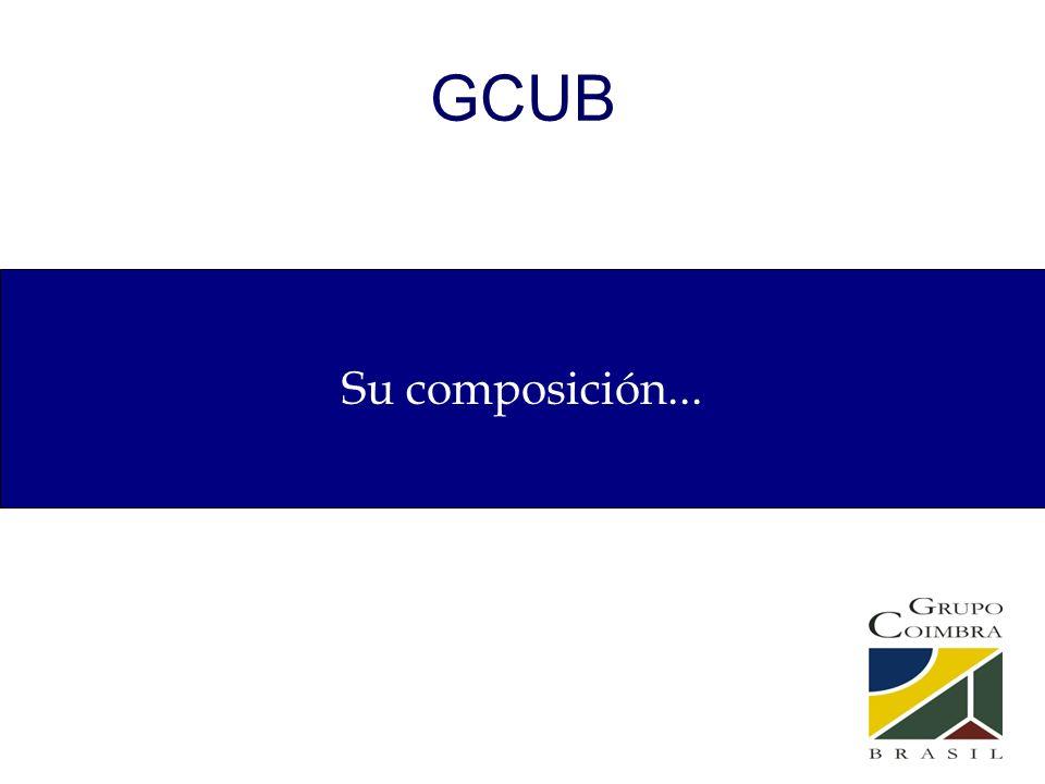 GCUB Su composición...