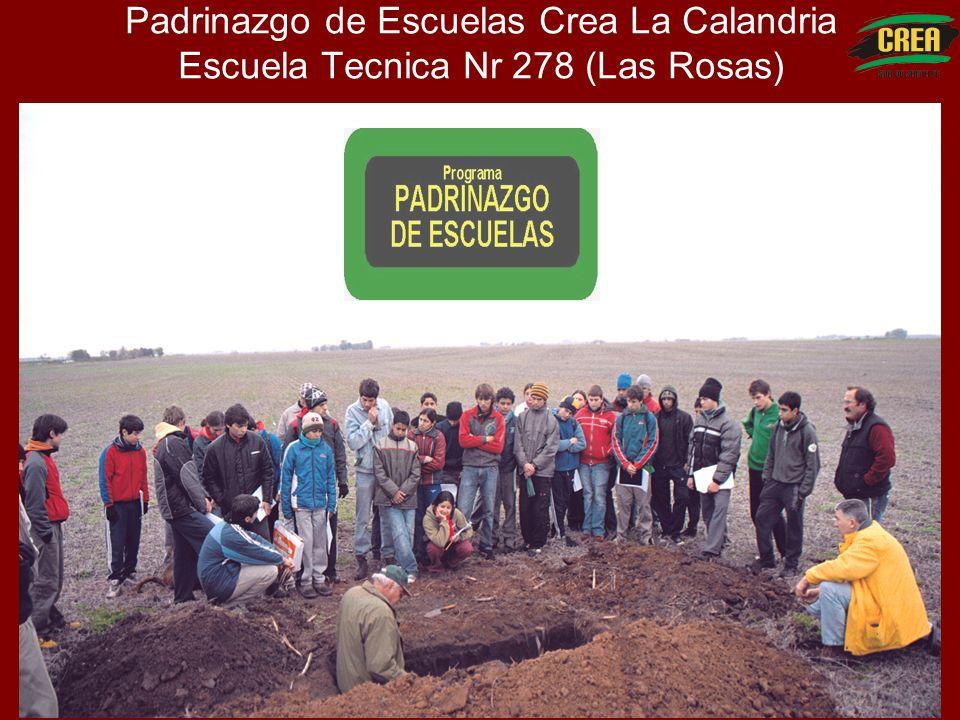 Padrinazgo de Escuelas Crea La Calandria Escuela Tecnica Nr 278 (Las Rosas)