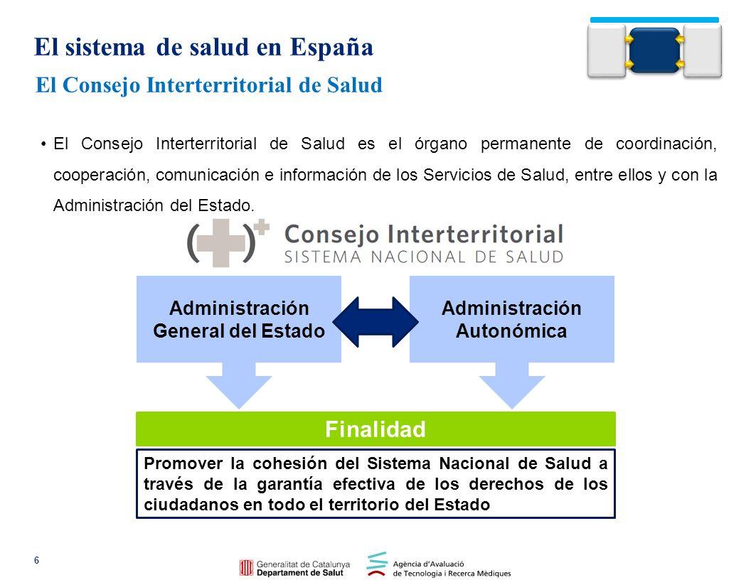 Caracterización del Sistema sanitario catalán La organización de las TIC en el ámbito salud en Cataluña El Sistema de Salud en España y Cataluña
