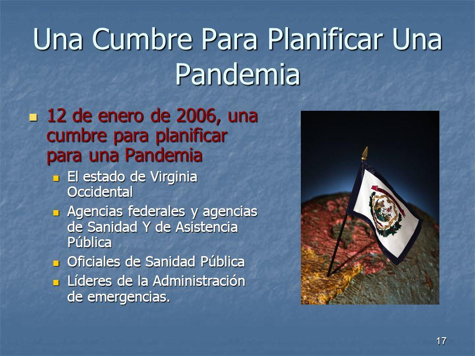 17 Una Cumbre Para Planificar Una Pandemia 12 de enero de 2006, una cumbre para planificar para una Pandemia 12 de enero de 2006, una cumbre para plan