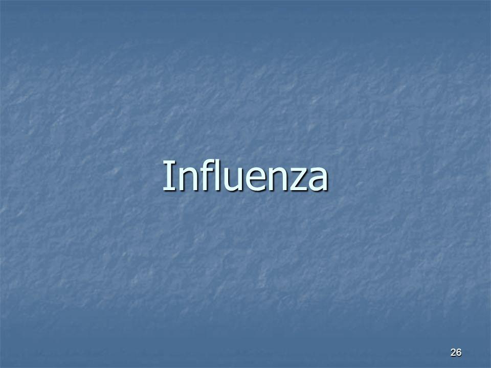 26 Influenza