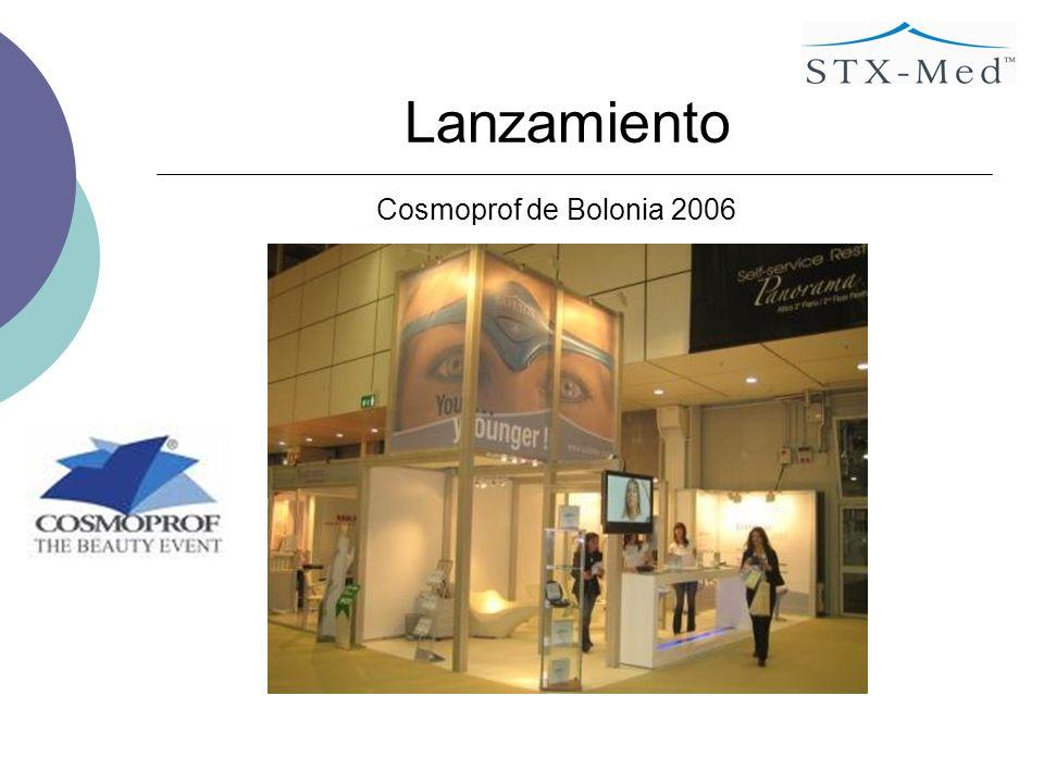 Lanzamiento Cosmoprof de Bolonia 2006