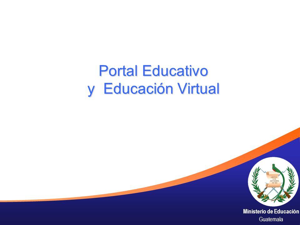 Ministerio de Educación Guatemala Portal Educativo y Educación Virtual