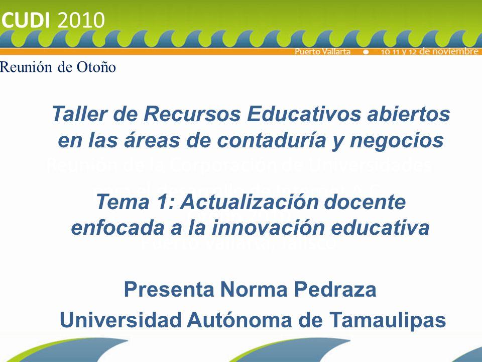 1.1 Antecedentes sobre competencias docentes para la innovación 1.2 Resultados de la investigación Actualización Docente realizada en las instituciones afiliadas a ANFECA.