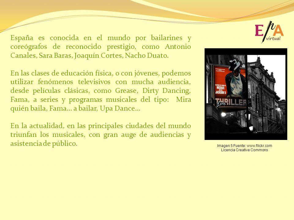 España es conocida en el mundo por bailarines y coreógrafos de reconocido prestigio, como Antonio Canales, Sara Baras, Joaquín Cortes, Nacho Duato.