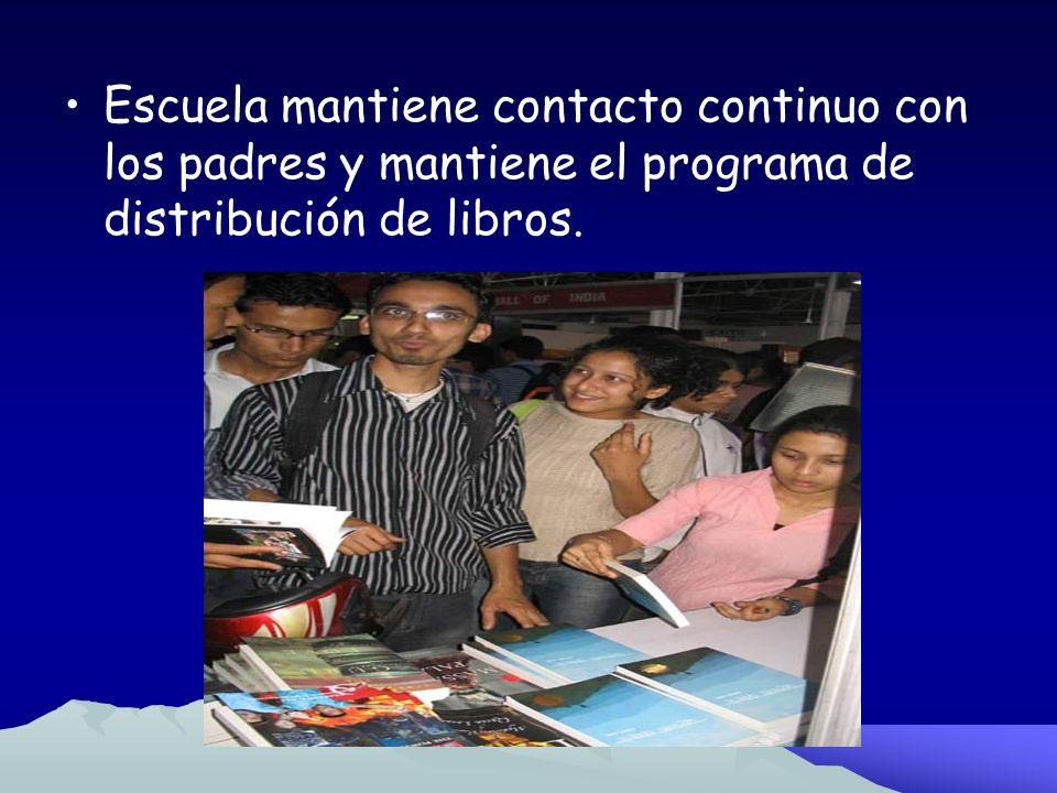 Fase 4 Desarrollo Profesional:Integrando los Grados Intermedios El equipo analiza los libros necesarios y se encargan de hacer las listas y pedidos co