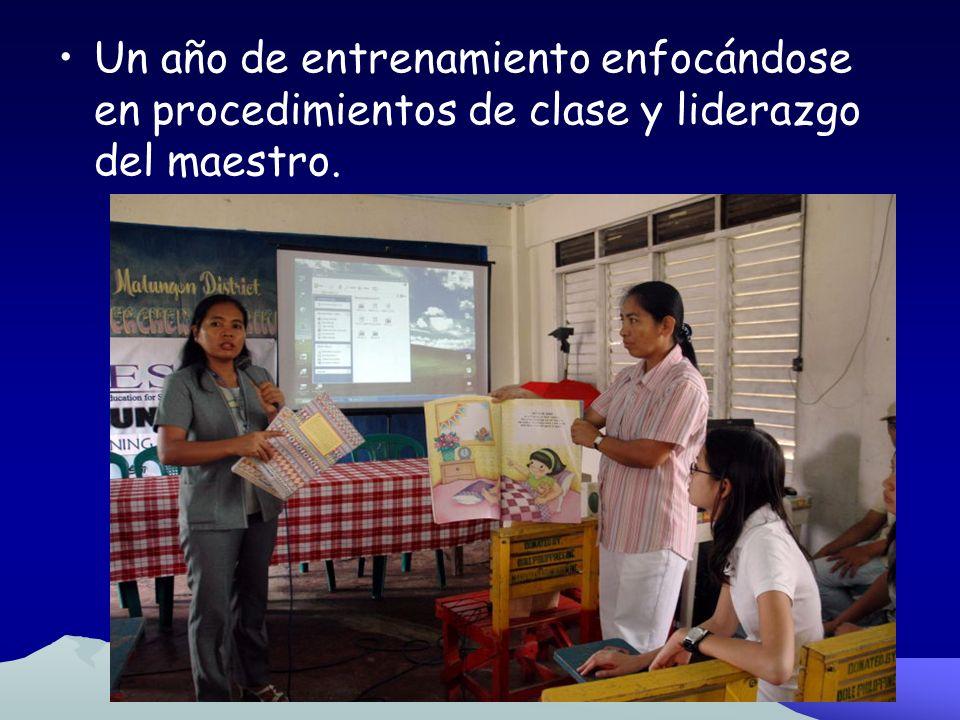 Fase 2 Desarrollo de Liderazgo (Puede ocurrir simultáneamente con fase 1) Entrenar a un líder dentro del plantel escolar llamado Coordinador de Alfabe