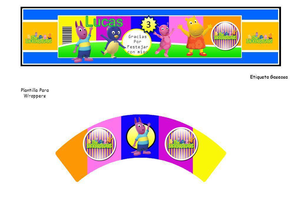 Plantilla Para Wrappers Modelo 2 Plantillas Para toppers-Ponlo en un Palillo y decora tu Cupcakes 3 3 3 3 3 3