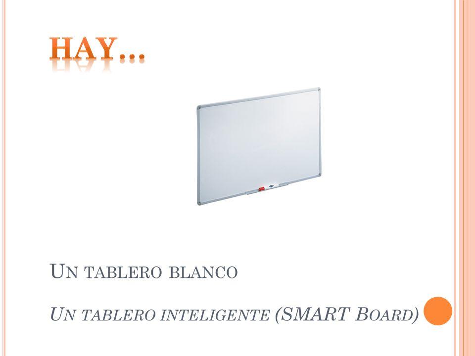 U N TABLERO BLANCO U N TABLERO INTELIGENTE (SMART B OARD )