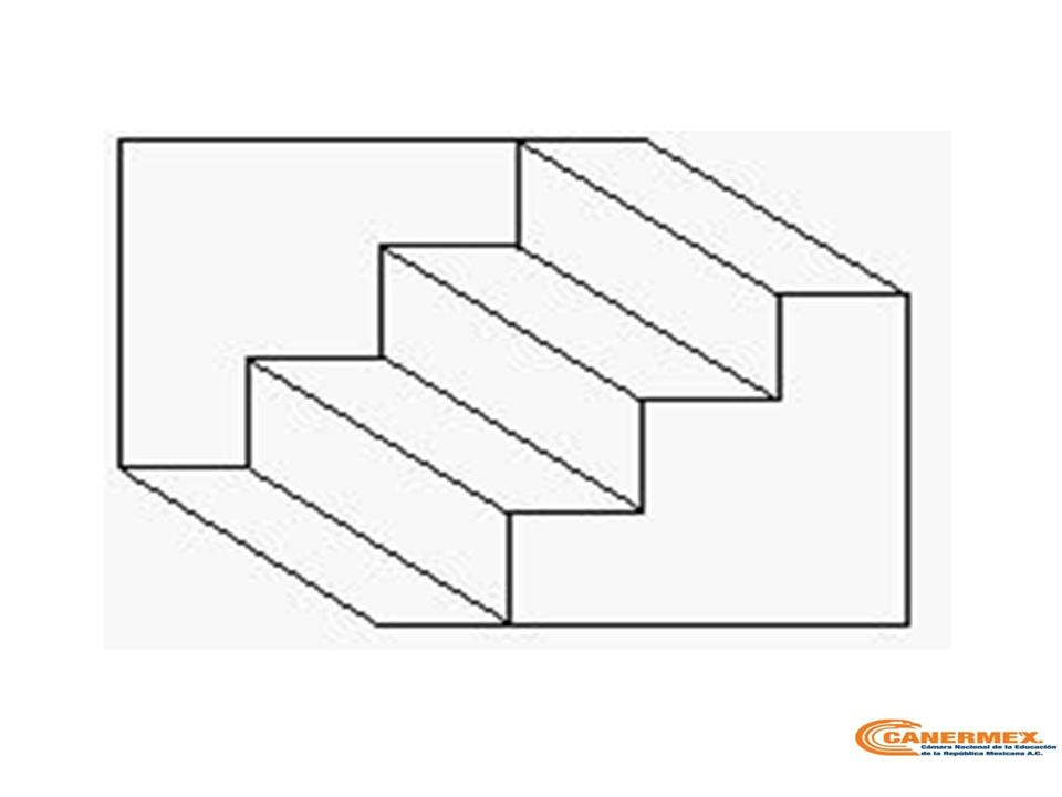 La alternancia vertical, puede verse a la inversa.