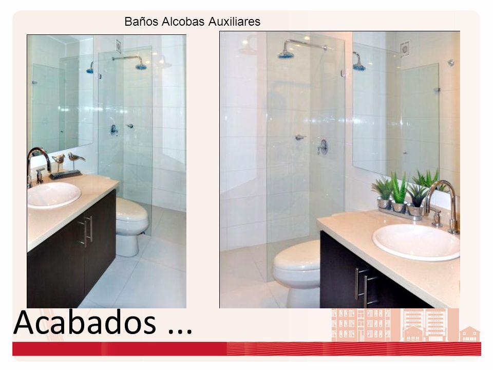 Baños Alcobas Auxiliares