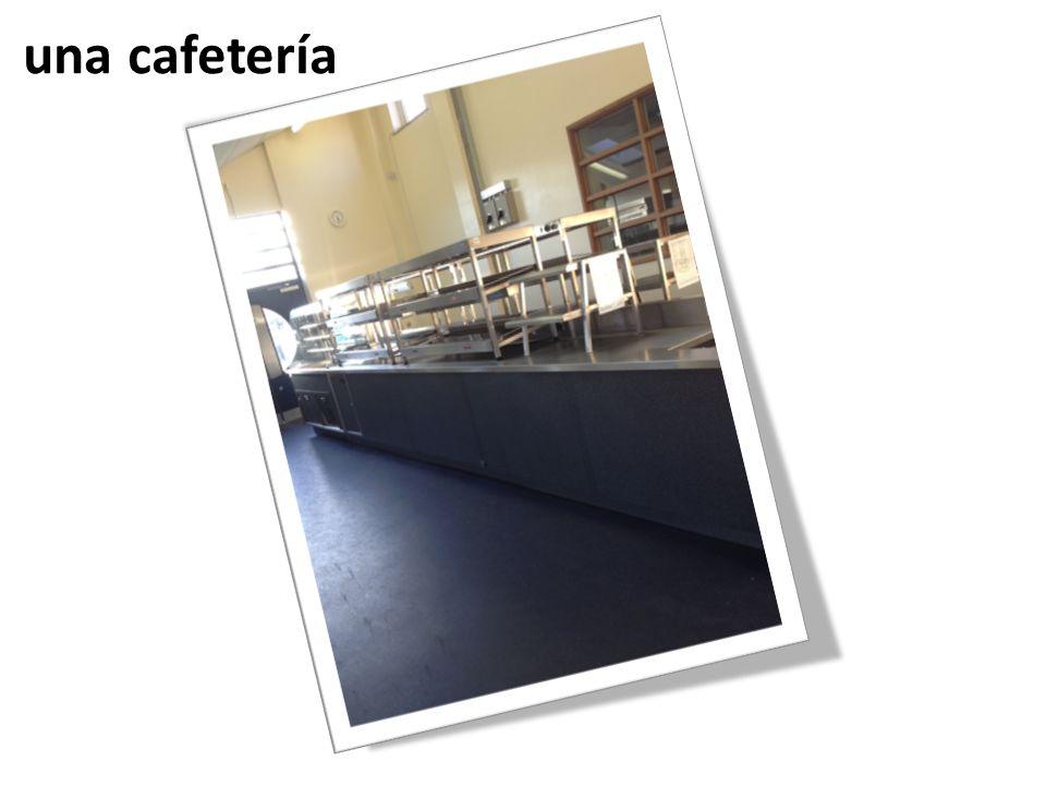 una cafetería
