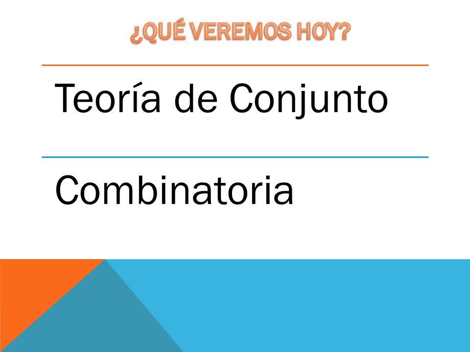 Teoría de Conjunto Combinatoria