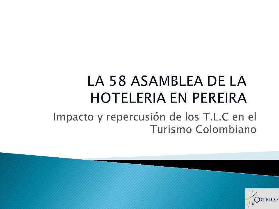 Impacto y repercusión de los T.L.C en el Turismo Colombiano