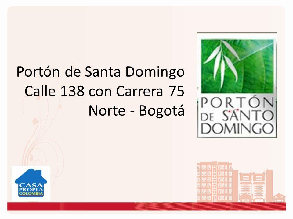 Portón de Santa Domingo Calle 138 con Carrera 75 Norte - Bogotá