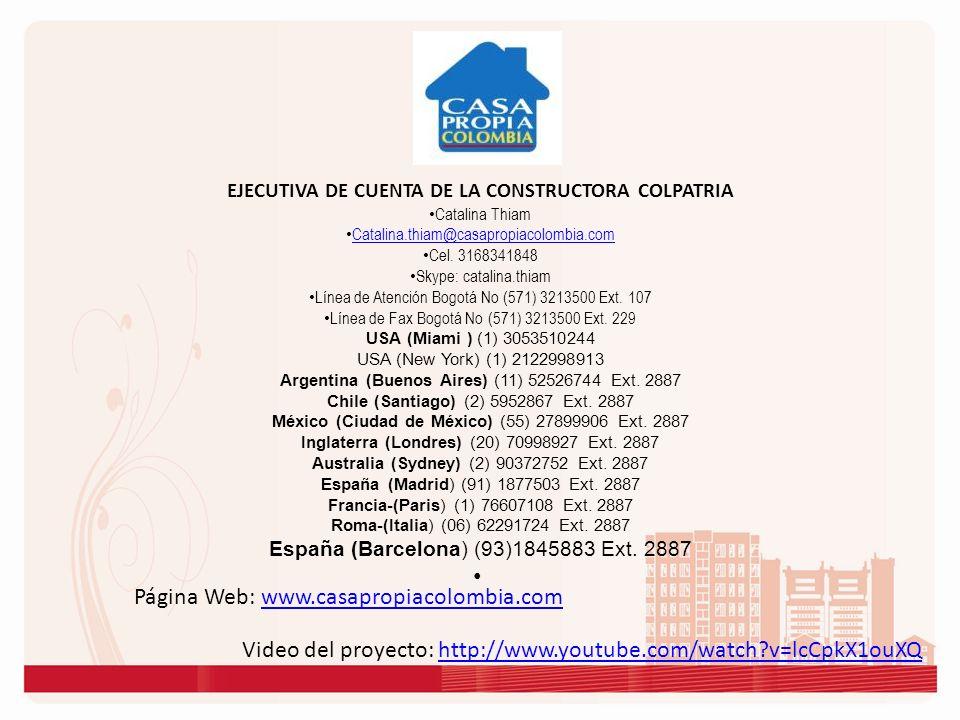 Página Web: www.casapropiacolombia.comwww.casapropiacolombia.com Video del proyecto: http://www.youtube.com/watch?v=lcCpkX1ouXQhttp://www.youtube.com/