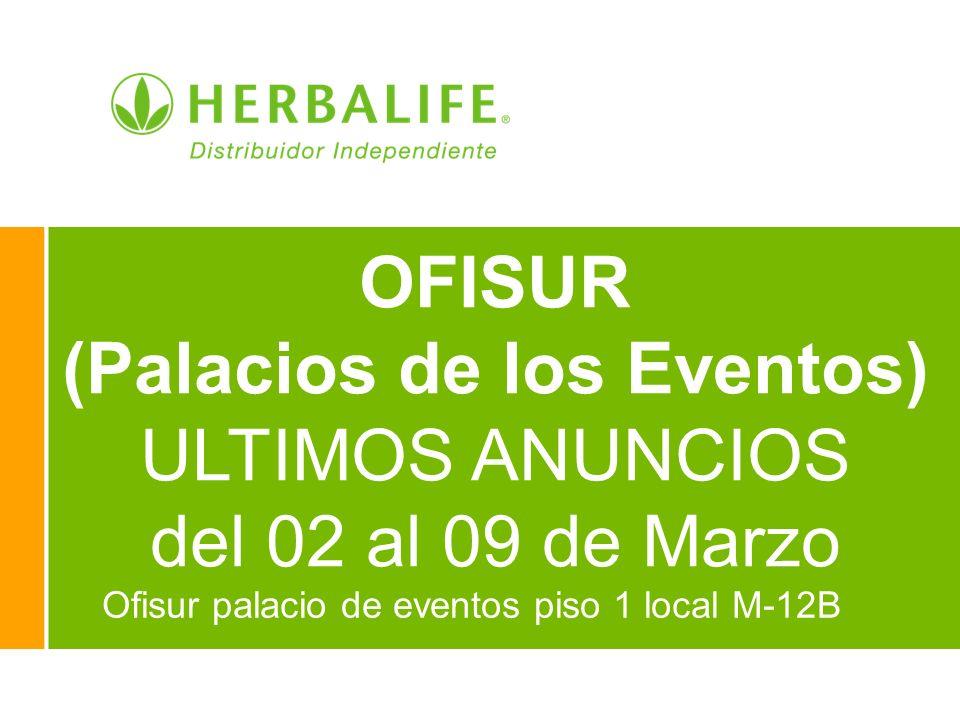 Ofisur palacio de eventos piso 1 local M-12B OFISUR (Palacios de los Eventos) ULTIMOS ANUNCIOS del 02 al 09 de Marzo