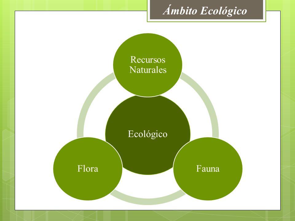 Ámbito Ecológico Ecológico Recursos Naturales FaunaFlora