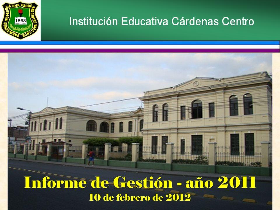 PROGRAMA INFORME DE GESTIÓN Himno a Colombia Himno al colegio Informe de gestión Intervención del lic.