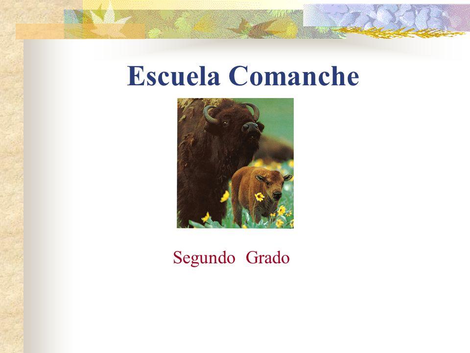 Escuela Comanche Segundo Grado