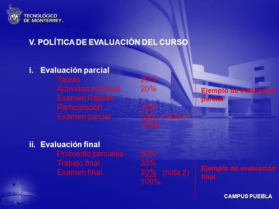 CAMPUS PUEBLA V.