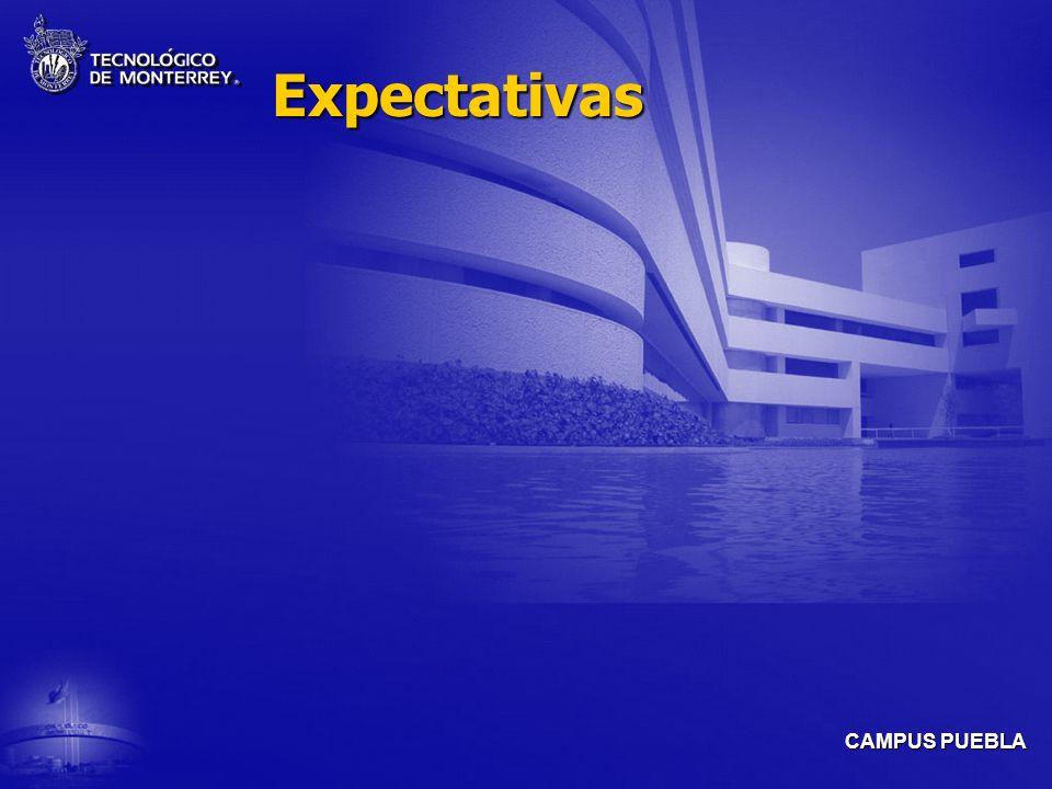 CAMPUS PUEBLA Expectativas