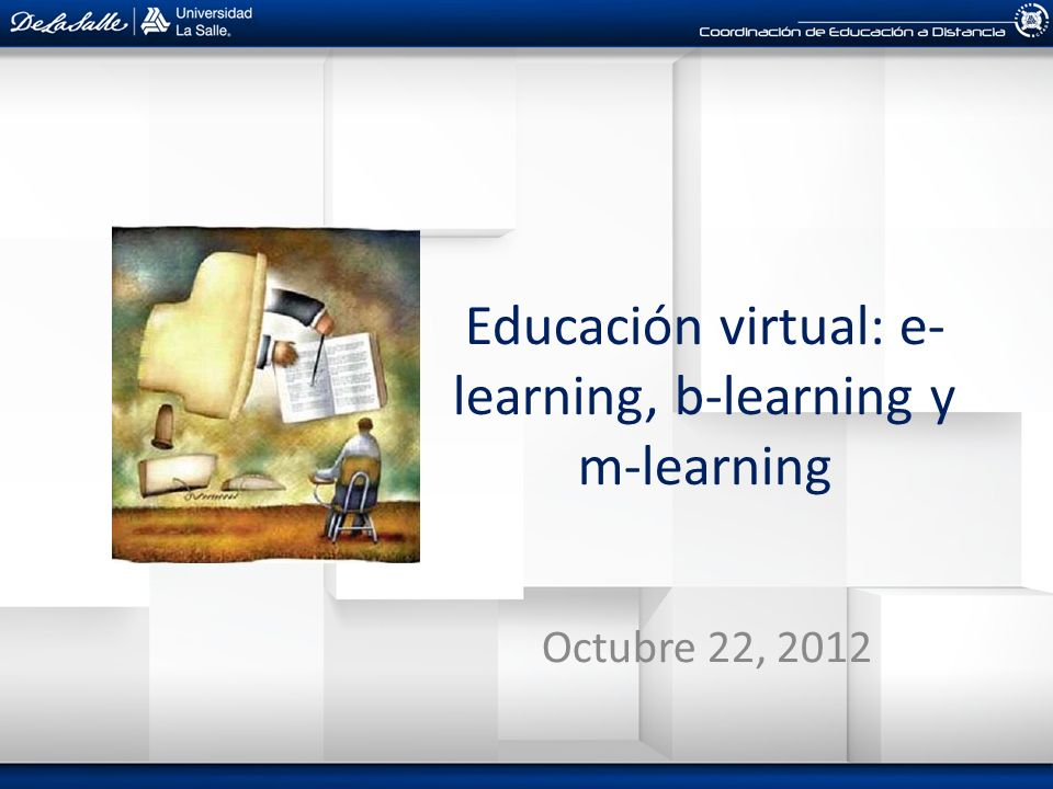 M-learning Se debe al desarrollo tecnológico Aprendizaje electrónico móvil Metodología de enseñanza y aprendizaje que se vale del uso de pequeños dispositivos móviles, tales como: teléfonos móviles, PDA, tabletas, PocketPC, iPod y todo dispositivo de mano que tenga alguna forma de conectividad inalámbrica.