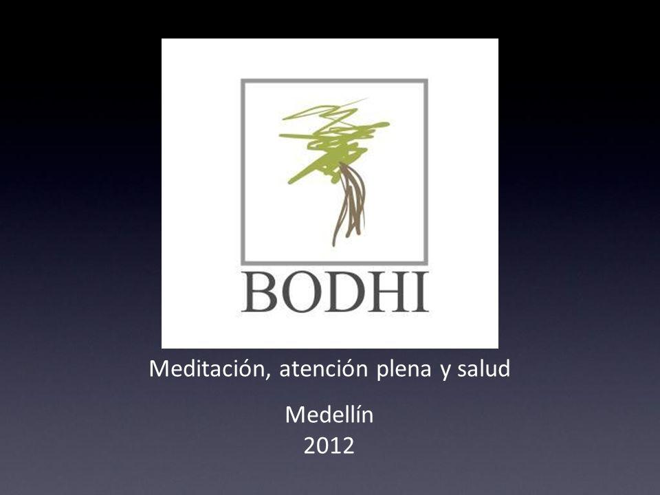 Quiénes somos: Bodhi, atención plena y salud está integrado por profesionales en el área de la salud radicados en la ciudad de Medellín, con amplia experiencia en el campo de la meditación.