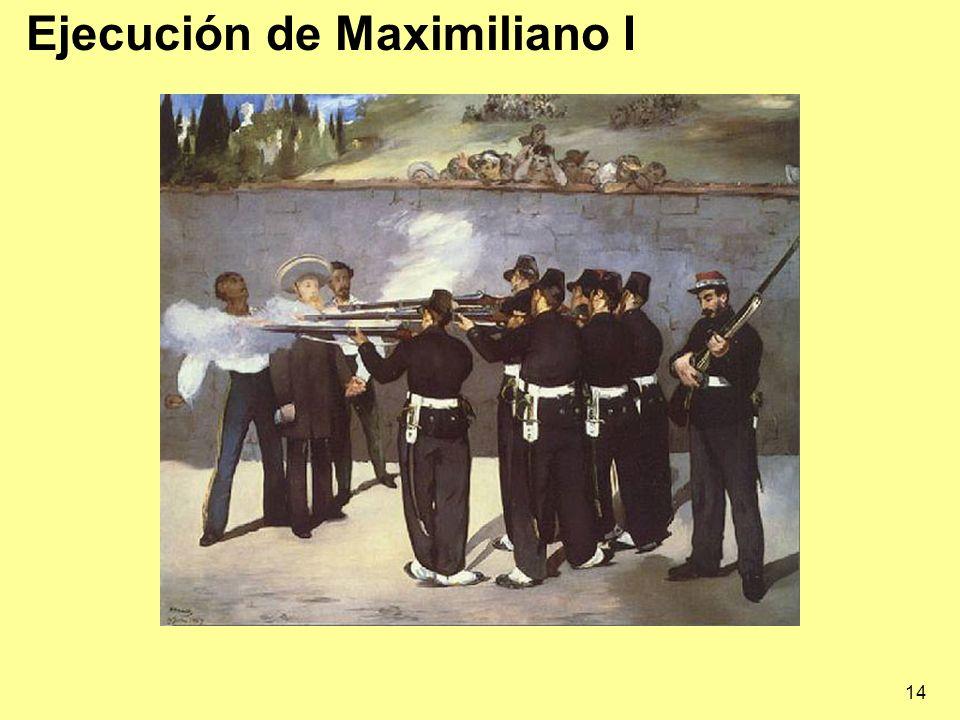 14 Ejecución de Maximiliano I