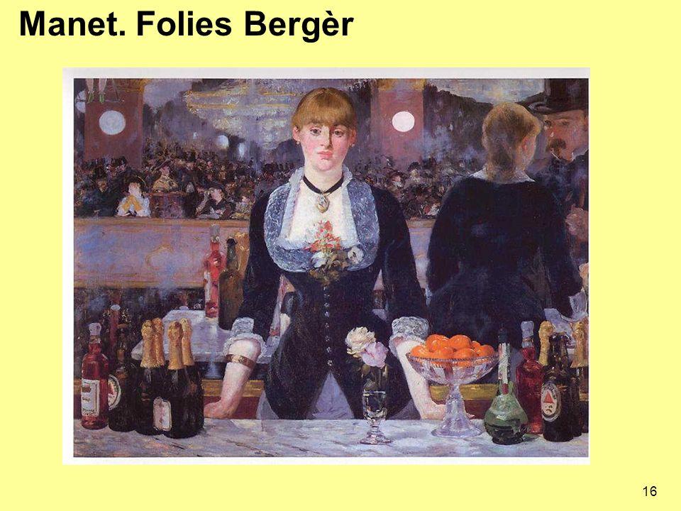 16 Manet. Folies Bergèr