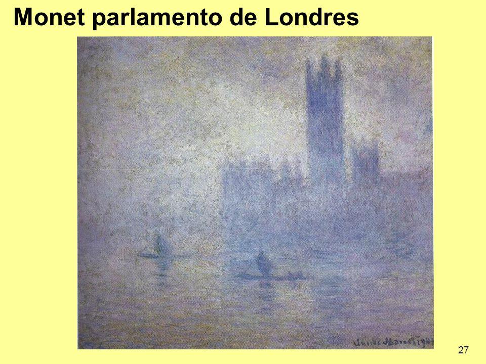 27 Monet parlamento de Londres