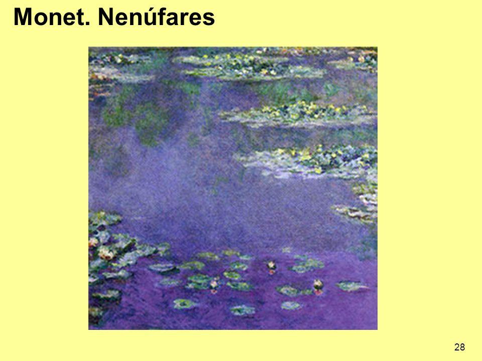 28 Monet. Nenúfares