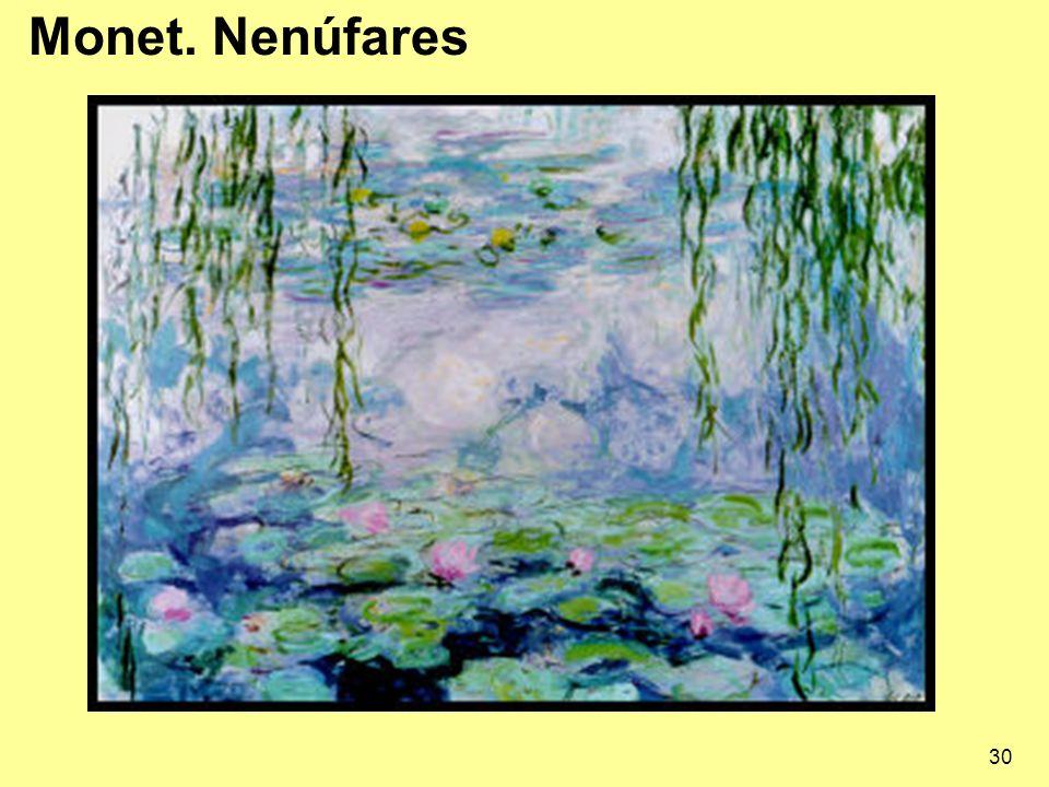 30 Monet. Nenúfares