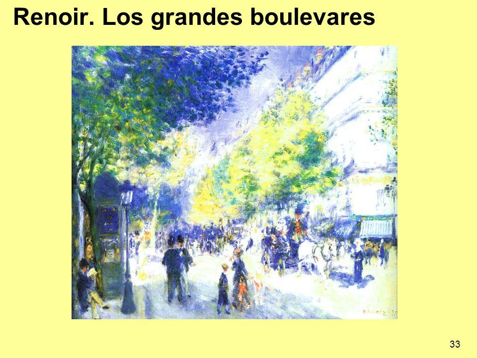33 Renoir. Los grandes boulevares