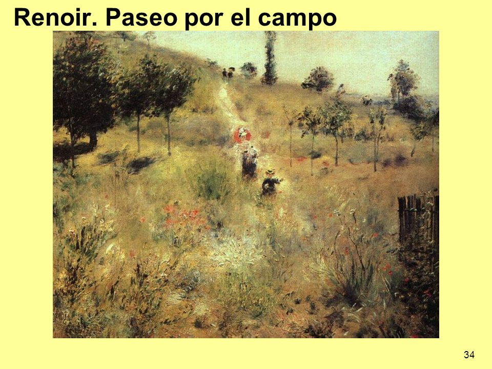34 Renoir. Paseo por el campo
