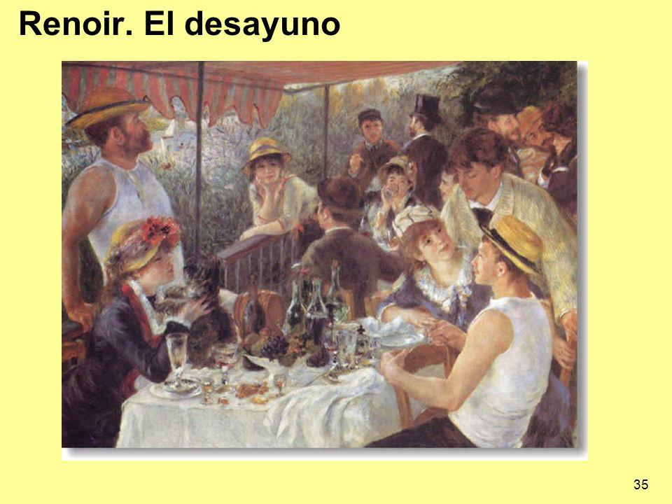 35 Renoir. El desayuno