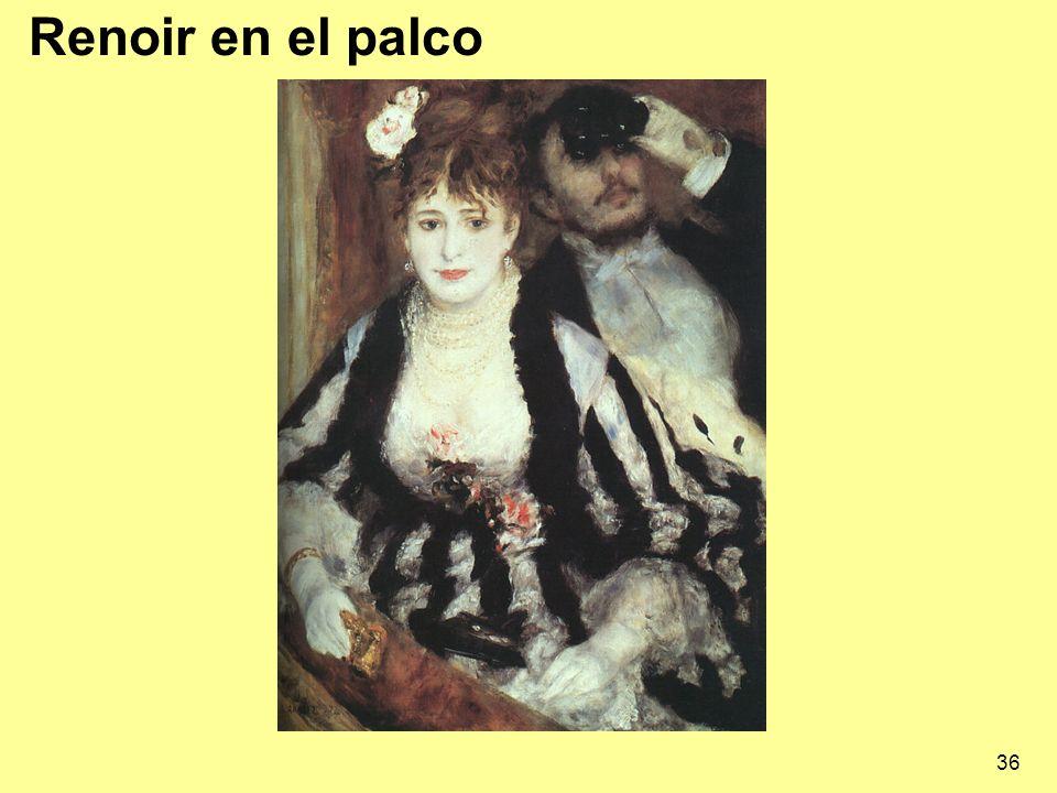 36 Renoir en el palco