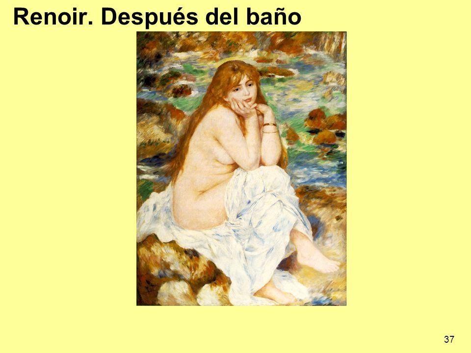 37 Renoir. Después del baño