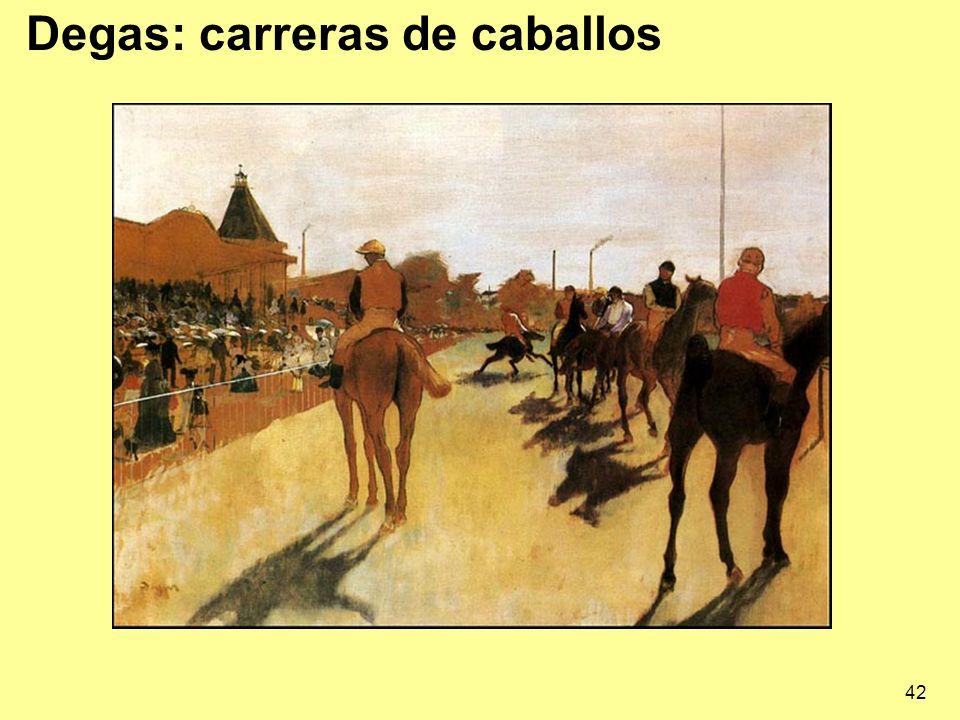 42 Degas: carreras de caballos