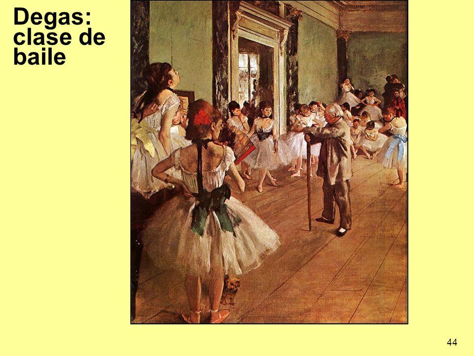 44 Degas: clase de baile