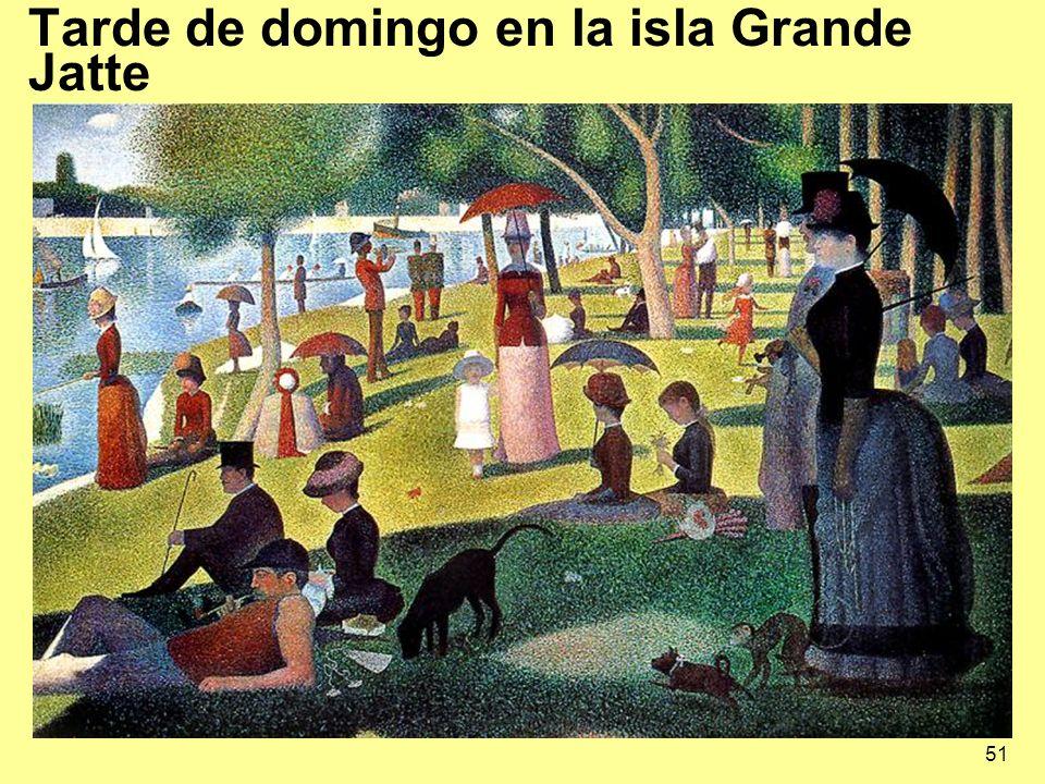 51 Tarde de domingo en la isla Grande Jatte