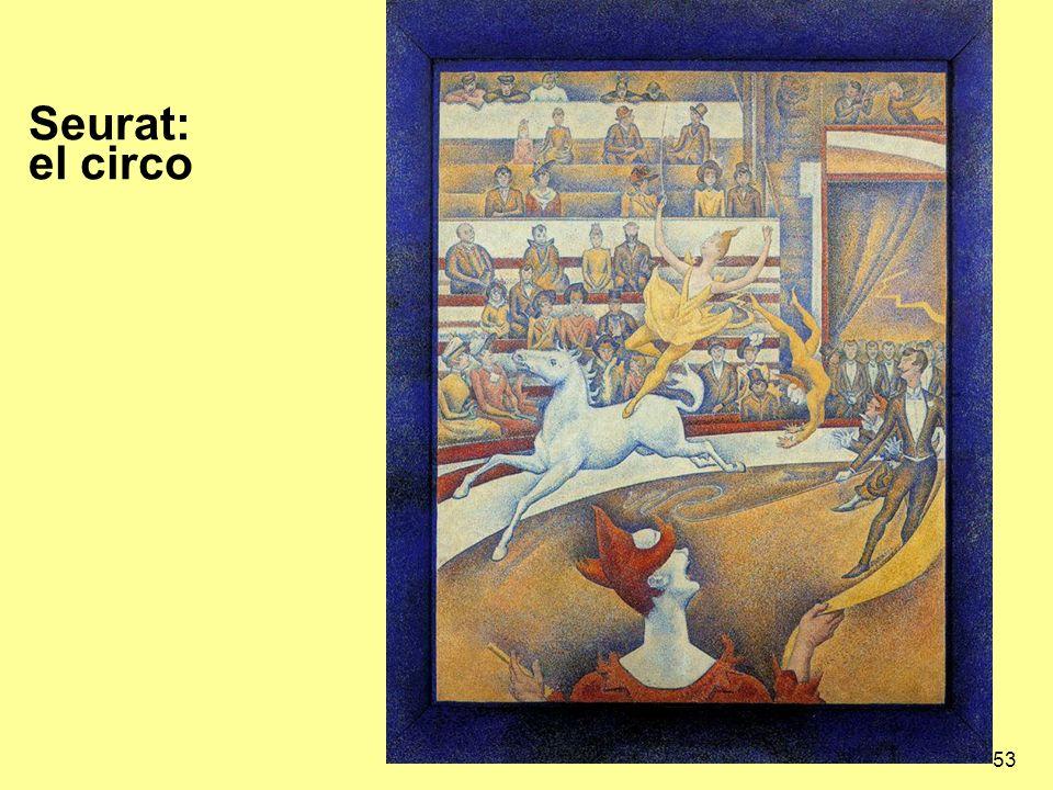 53 Seurat: el circo
