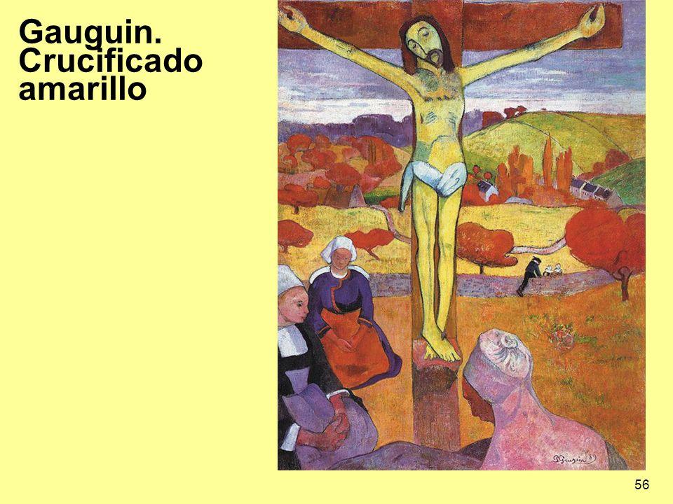 56 Gauguin. Crucificado amarillo