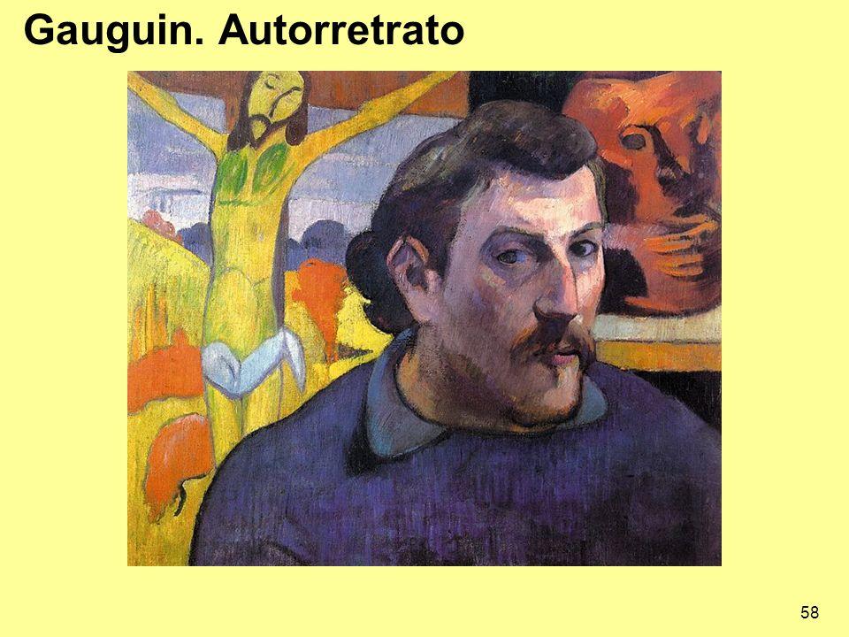 58 Gauguin. Autorretrato