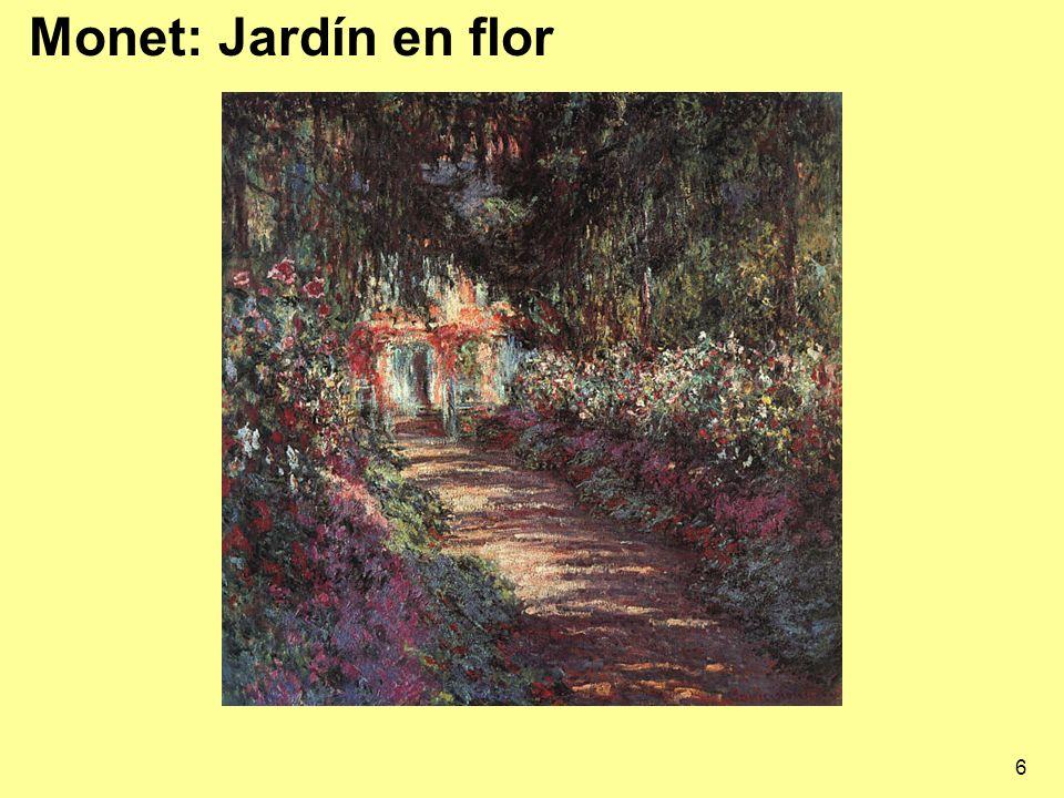 17 Monet 1840-1926 Nacido en Le Havre, llegó a París en 1859.