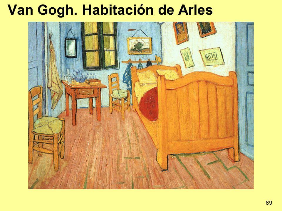 69 Van Gogh. Habitación de Arles